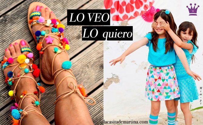 ♥ Para ella y para ti este verano iréis A TODO Pom Pom ♥ Tendencias Moda Infantil : Blog de Moda Infantil, Moda Bebé y Premamá ♥ La casita de Martina ♥