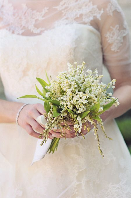 Best Lily Of The Valley Bridesmaid Bouquet Ideas On Pinterest