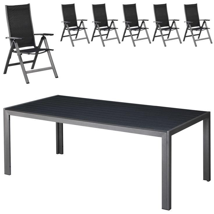 Gartenmöbel Set Las Vegas (100x205, 6 Stühle) Jetzt Bestellen Unter: Https