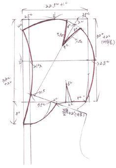 Create hood pattern: Naver Blog