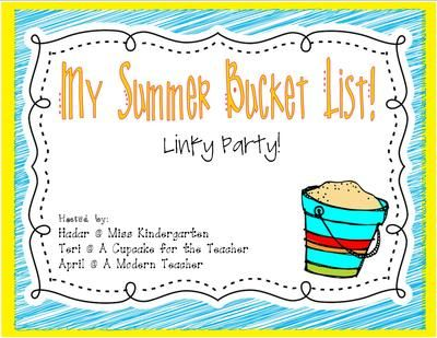 Summer Bucket Lists-cute ideas to make over the summer...check them out or link up