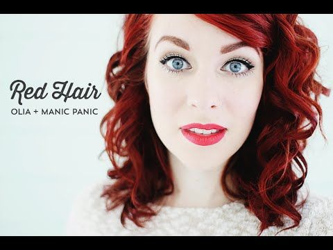 Hair Color Review Olia + Manic Panic | MAIEDAE