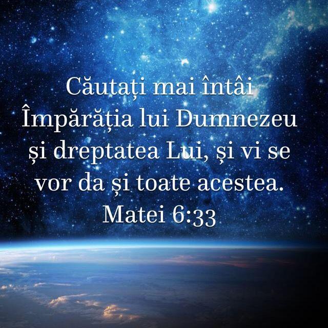 Matei 6:33