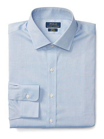 Slim-Fit Non-Iron Oxford Shirt - Polo Ralph Lauren Sale - RalphLauren.com