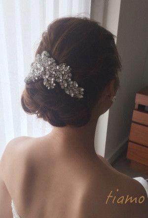 ドレスから色打掛へとチェンジ♡お洒落花嫁さまの素敵な1日 の画像 大人可愛いブライダルヘアメイク 『tiamo』 の結婚カタログ