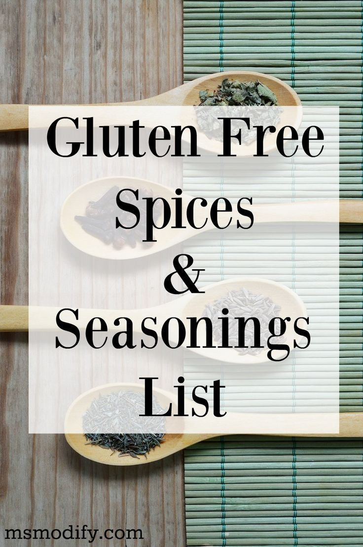 With Thanksgiving around the corner, I've put together a huge list of gluten free spices and seasonings for you!
