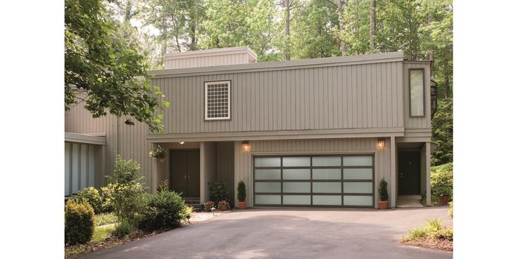 12 best garage images on pinterest garage ideas pole barn garage contemporary venice aluminum garage doors with clear anodize finish solutioingenieria Image collections