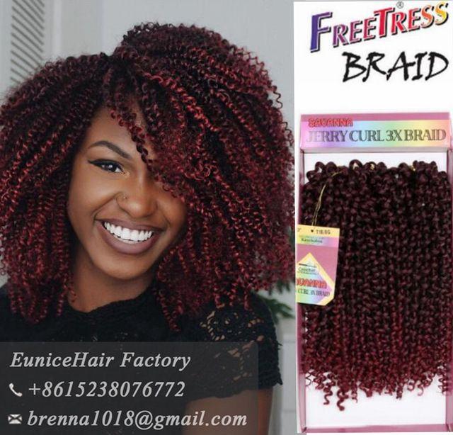 Freetress braids Pre loop Wand Curl Crochet hair ... - photo #37