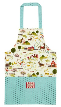 Our Farmer Greenwood #apron has a cool retro print.