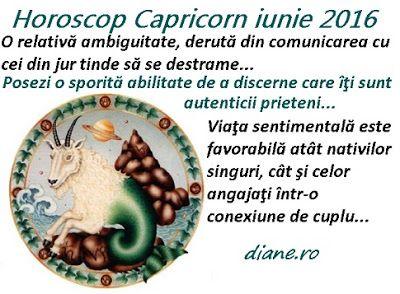 diane.ro: Horoscop Capricorn iunie 2016
