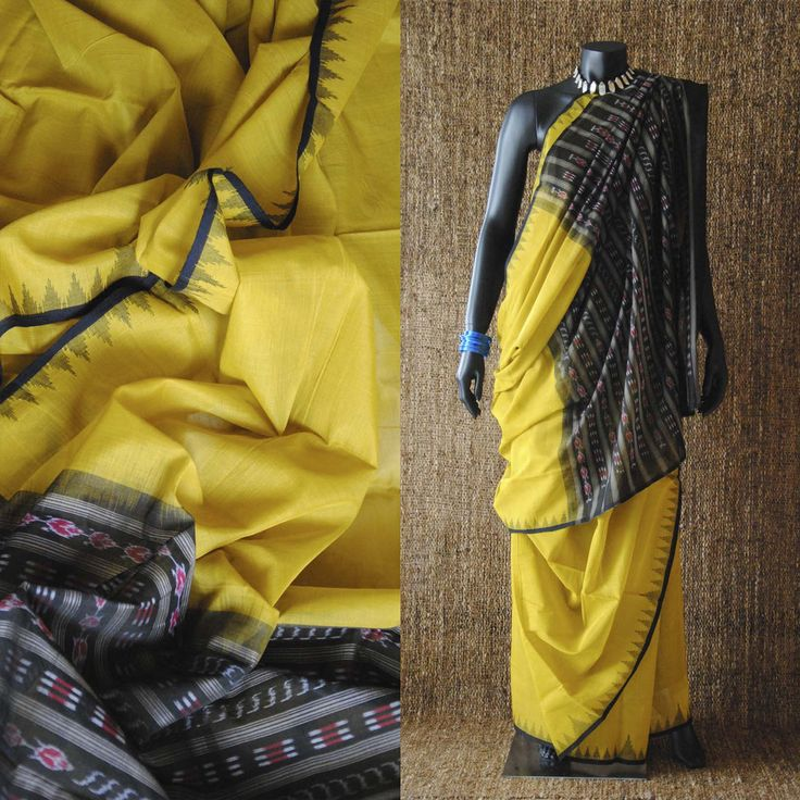 Kotpad Hand Woven Cotton Tribal Sari