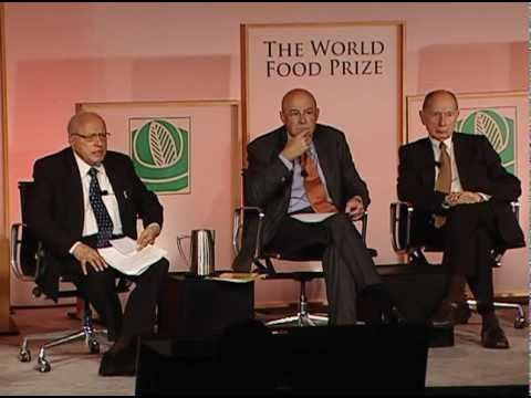 Game Change: Innovations Shaping the Future of Green Technology. A panel discussion from the 2012 Borlaug Dialogue featuring:  Marc Van Montagu -- Emeritus Professor, Ghent UniversityRobert Fraley -- Executive Vice President  Chief Technology Officer, MonsantoM.S. Swaminathan -- Emeritus Chairman, M.S. Swaminathan Research Foundation (Moderator)