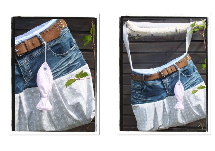 Aus alter Jeans wird `ne Tasche