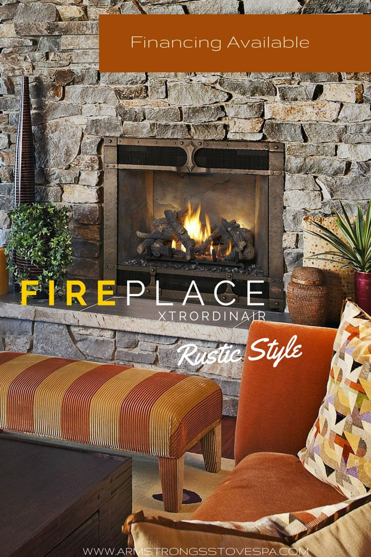 Add a Little Rustic Style - Fireplace Xtrordinaire Timberline - Armstrong's Stove & Spa