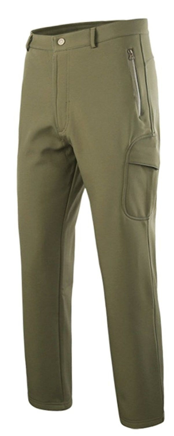 0e3029d2f2d0f Men's Clothing, Active, Active Pants, Men's Thermal Hiking Pants Lined Ski Pant  Waterproof Outdoor Pants - Army Green - C6188D8WAR6 #men #clothing #fashion  ...