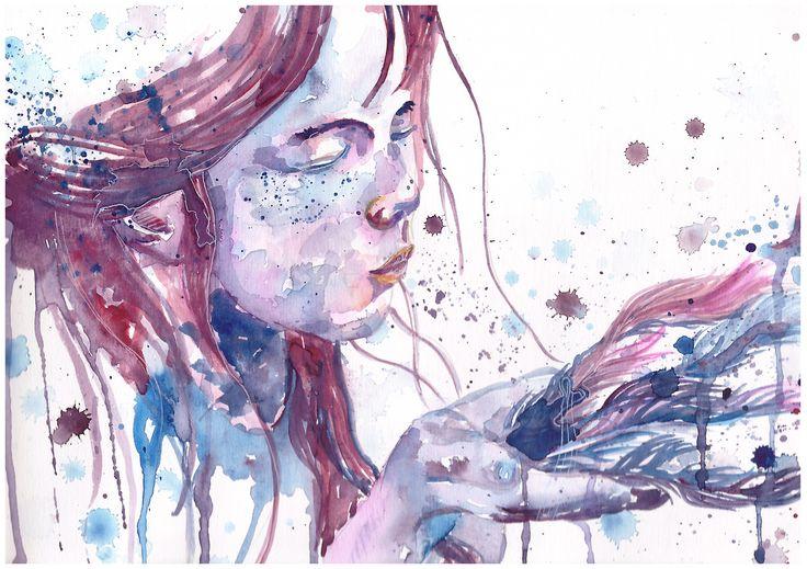 Art #watercolor #art