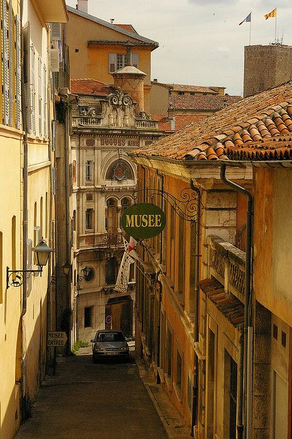 Grasse, France. We were there on a Bus Tour from Niece when we heard Vorster had resigned as P.M. in South Africa