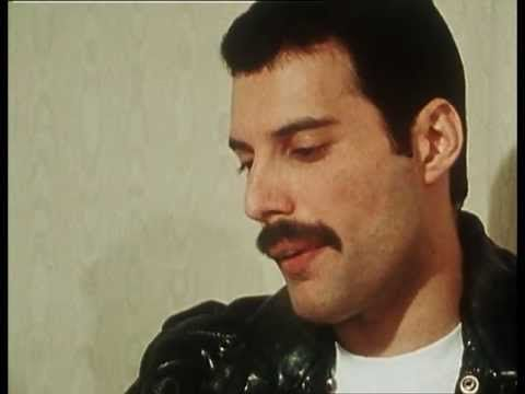 Rarely seen footage of Freddie Mercury Interview (1982)