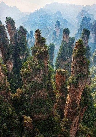 : Zhangjiajie  China. By Trey Ratcliff