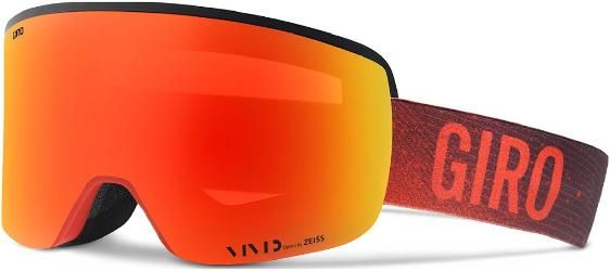 Giro Axis Snow Goggles Red Faded Vivid Ember/Vivid Infrared