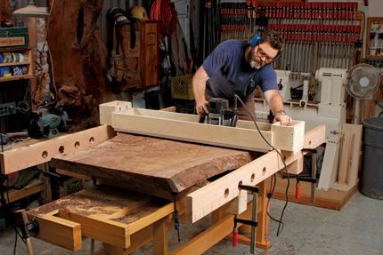Obsessed: Woodworking by Nick Offerman  Photo: http://www.finewoodworking.com/item/45605/nick-offerman-woodworker-and-actor