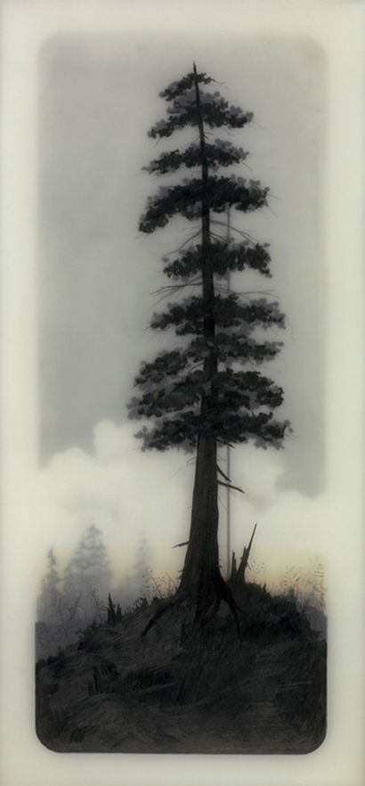 A haunting combination of man-made architecture and nature landscapes by Brooks Shane Salzwedel