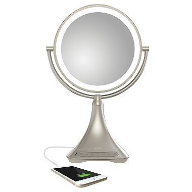 iHome Vanity Mirror with Bluetooth $130