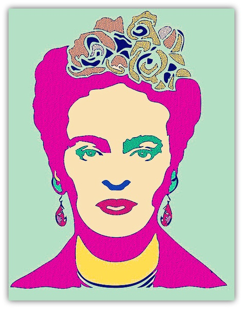 Pop Art Frida