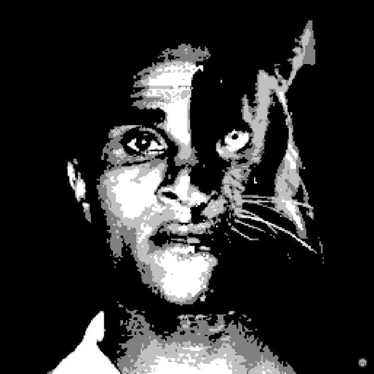 A Tribute to Eusébio, The King. http://zoon0.tumblr.com/  Benfica, Eusebio, Pantera Negra, SLB, Tribute, Black Panther, Football