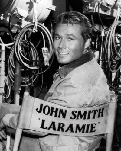 """John Smith as Jess Harper in """"LARAMIE"""""""