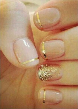 Nails Glamour Sparkle