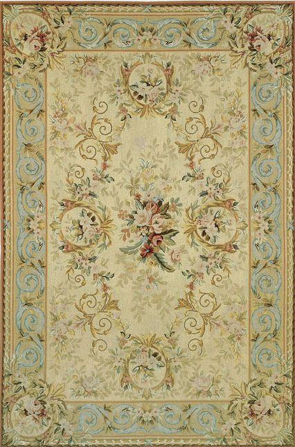 Tappeto in stile / in lana / rettangolare / a motivi - CHARTRES 6003 - TISCA ITALIA