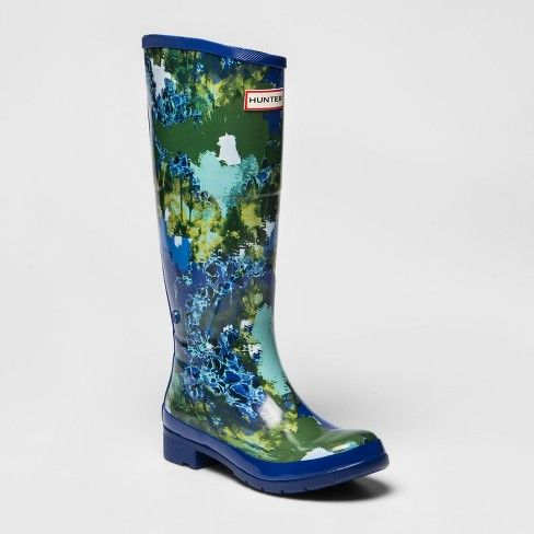 06846c14127 $40 Hunter for Target Women's Abstract Print Waterproof Rain Boots ...