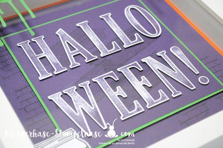 Stampin Up Bernau Berlin Halloween Ribba Bilderrahmen Letters for You Har of Haunts Ghoulish Grunge Einweckgläser (12)