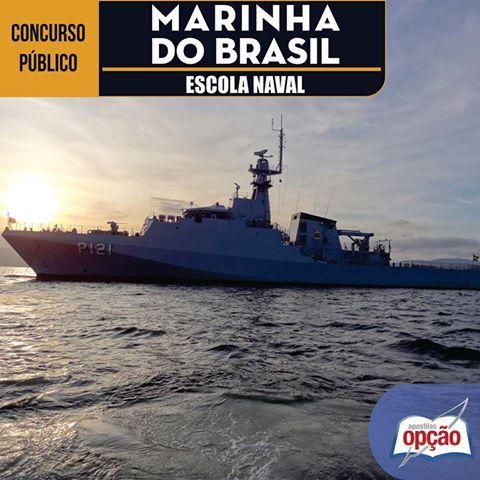 Apostila Concurso Marinha do Brasil / MB - 2016 (Escola Naval): - Cargo: Admissão à Escola Naval (CPAEN) em 2016