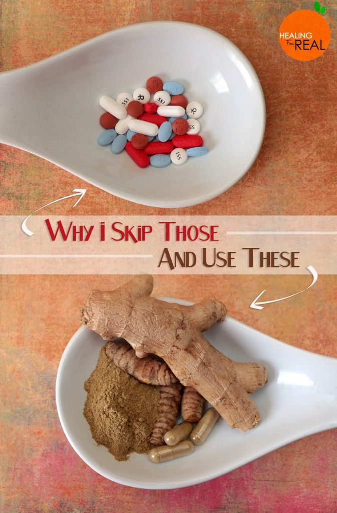 NSAIDs have WAY too many side effects for me. Find out what I use instead.