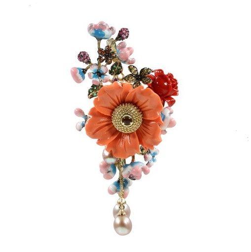 Style-Avenue - Jewellery Garden - Ювелирный сад : Кулон-брошь (PGA004-1)