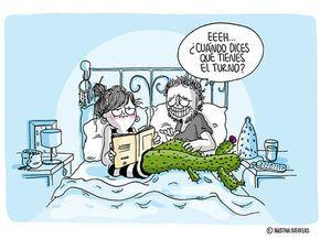 Bendito Ocio: Las 11 escenas de la vida en pareja ilustradas con sarcasmo por 'La Volátil'
