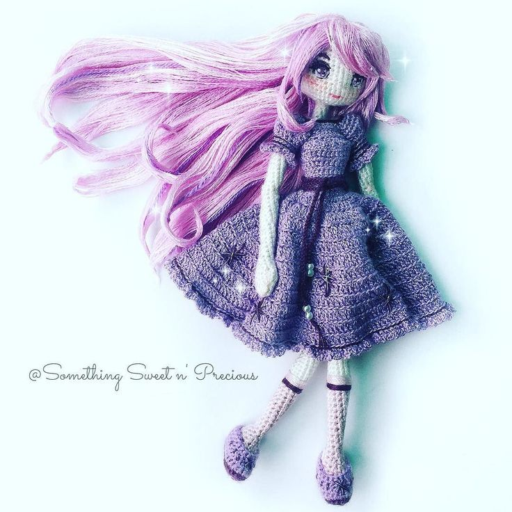 Ms Berry Falling in love with this doll.... Hope you'll enjoy this anime inspired doll too  Pattern by @yocci_craft  #anime #amigurumi #鉤針娃娃  by somethingsweetnprecious