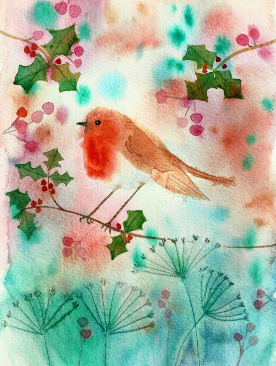 Buy Little robin, Watercolour by Mary Stubberfield on Artfinder. Discover thousands of other original paintings, prints, sculptures and photography from independent artists.