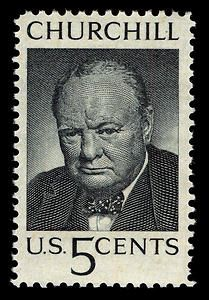 British Prime Minister Winston Churchill collected stamps as a boy.