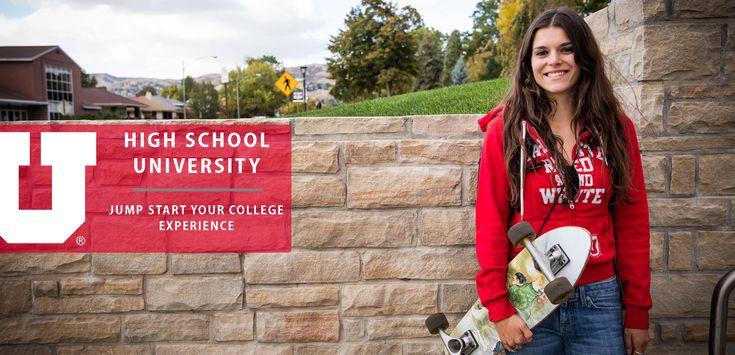 High School University Program - Office of Admissions - The University of Utah