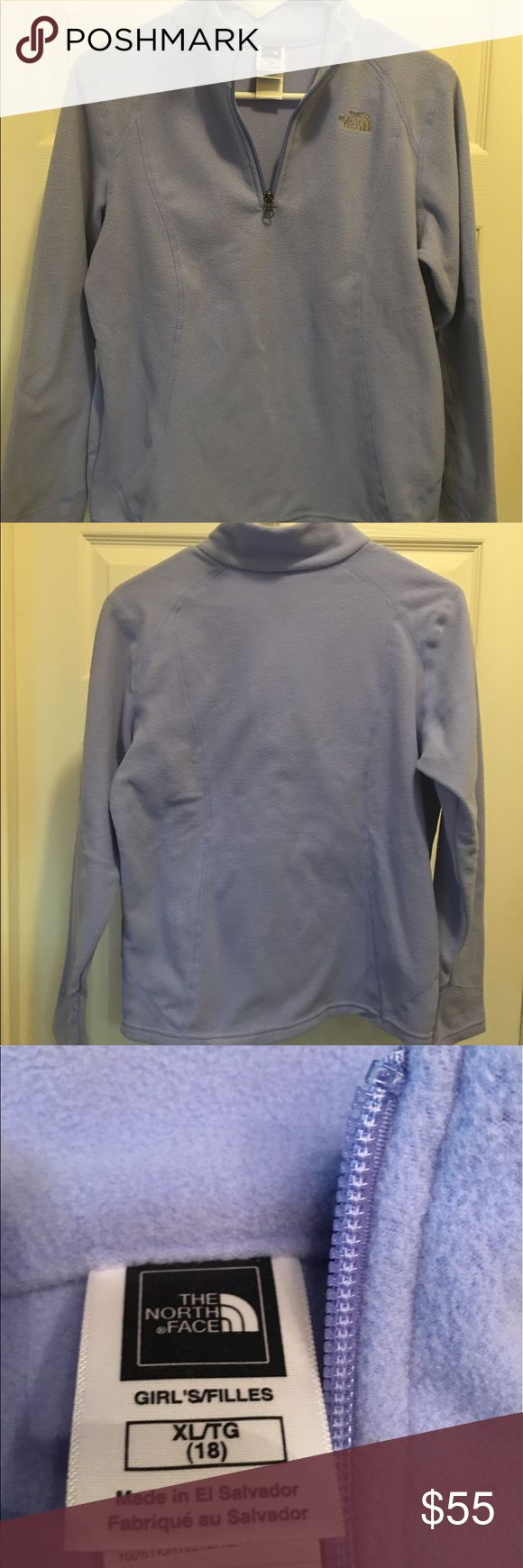 Girls north face half zip jacket Girls size xl (18) in great condition! The North Face Jackets & Coats