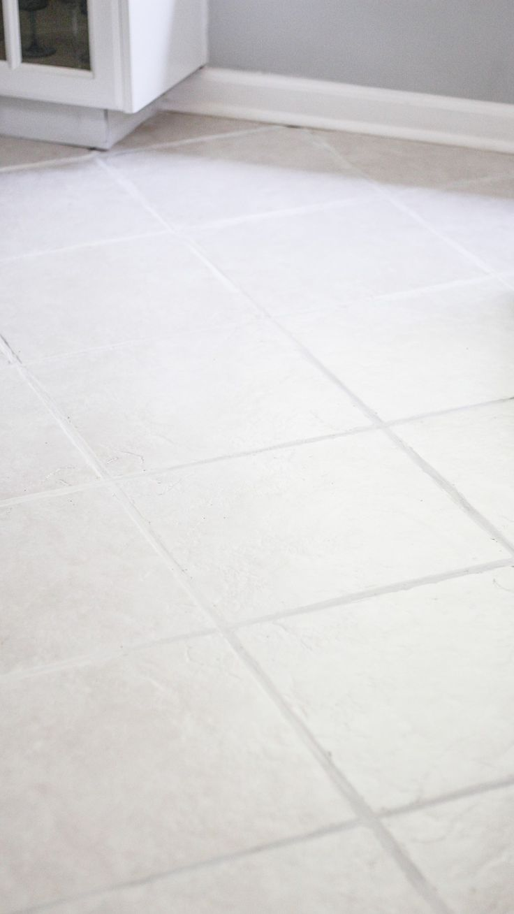 The Easiest Way to Clean Filthy, Neglected Tile Flooring