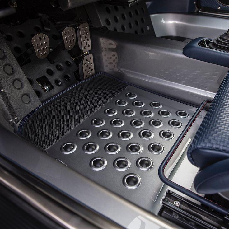 Singer vehicle design on instagram aluminum floor mats