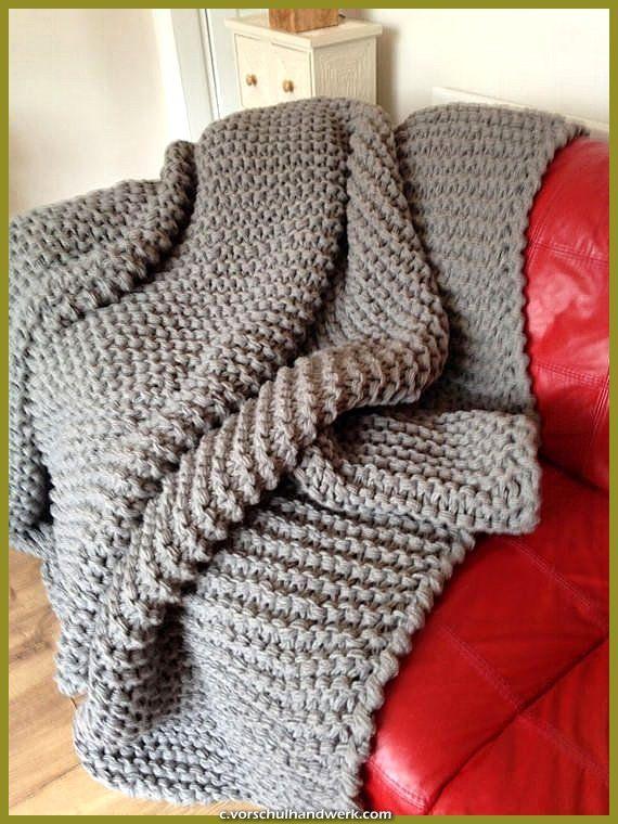 Schone Chunky Knit Hulse Riesige Hand Stricken Gestrickt Afghanischen Riesen Thread Super Hulse Dicken In 2020 Decke Stricken Hakeldecken Muster Schwere Wolldecke