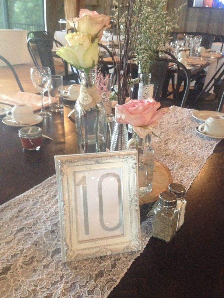 Lace Runner- Restored Hardwood Tables