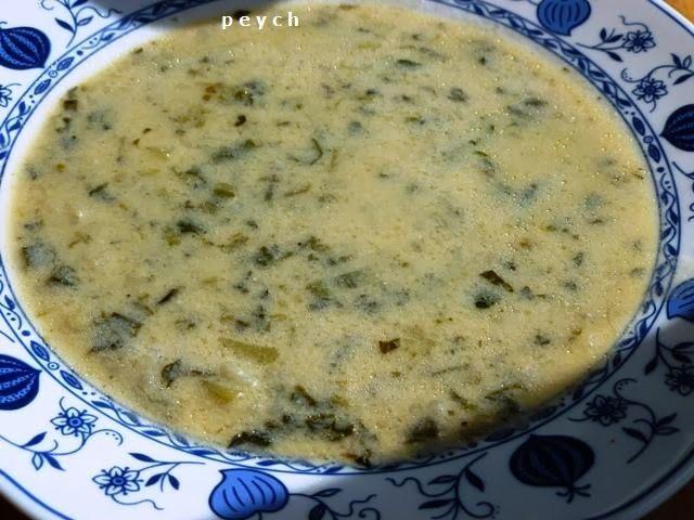 Добър апетит с Peych!: Супа от коприва с кисело мляко