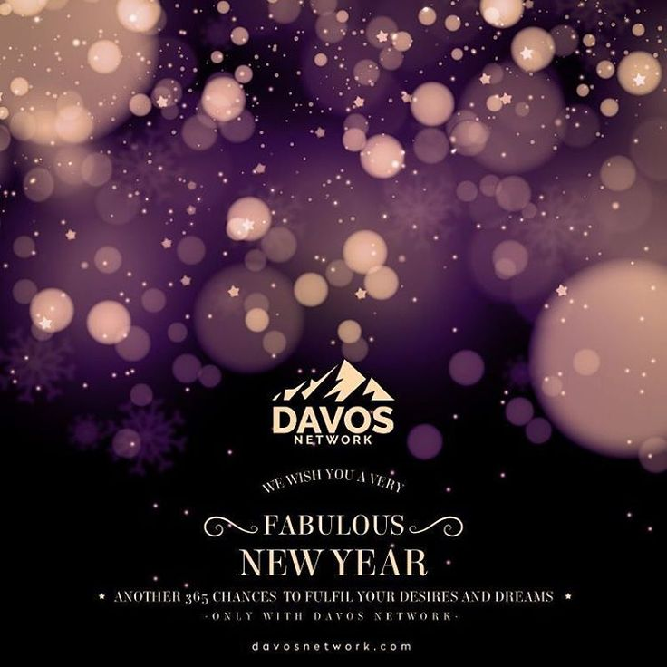 New #beginnings , new #experiences & new #memories . Watch them unfold this #newyear only with #davosnetwork, the all new international #lifestyle club and luxury #concierge. Happy #2017! 😀👏💞