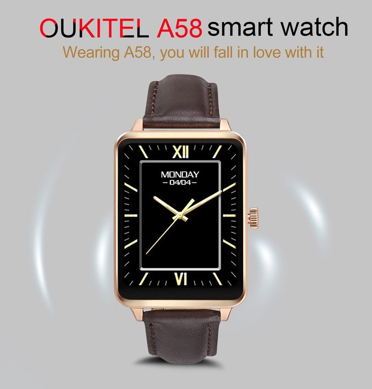Oukitel A58 Smartwatch Presell, Special Offer from Gearbest @ $44.99